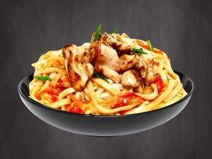 Wok-лапша с курицей